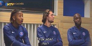 Paris Saint Germain Takımından Futbolcularına Efsane Kamera Şakası