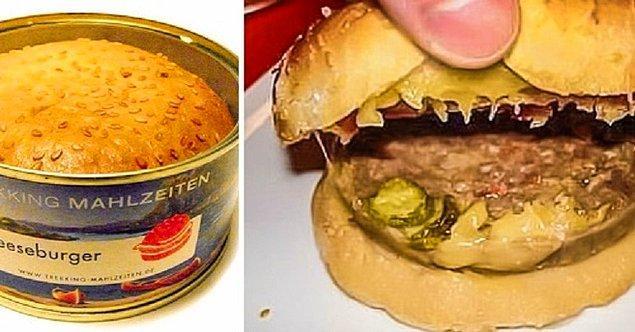 2. Konserve burger