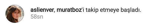 İkili Instagram'da birbirlerini takibe başladı tekrardan...