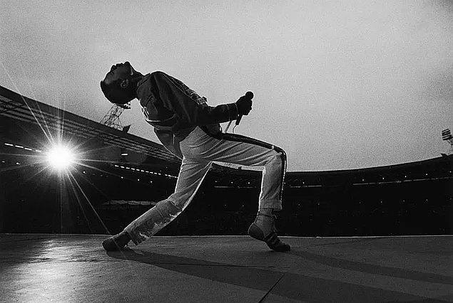 23. Dünya çapında 700'den fazla konserde Queen grubuyla birlikte sahne aldı ve grup 300 milyondan fazla albüm satışı yaptı.