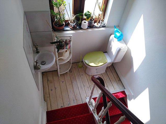 13. Misafirlere harika bir deneyim yaşama garantisi veren tuvalet: