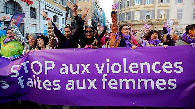 Dünya kadınları şiddete karşı ayakta: Birçok eylem dünden itibaren başladı.