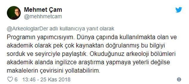 """Yarışmanın programcısı Mehmet Çam cevap verdi: """"Makalelerin çevirisini yollatabilirim"""""""