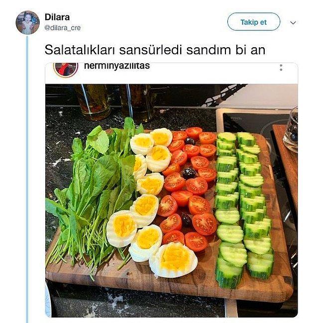 7. Japon salatası.