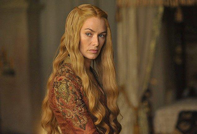 14. Kraliçe Cersei birçok hayran oylamasında en nefret edilen karakter seçiliyor.