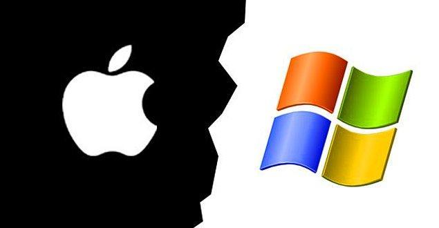 20. Microsoft; en büyük rakibi Apple ile karşılaştırıldığında dünya marketlerinin tahminen %25'ine sahiptir.
