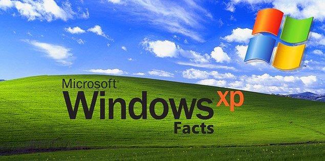 23. Windows XP resmi olarak 2001'de piyasaya sürüldü. Microsoft, Nisan 2014'te XP için desteklerini sona erdirdi ancak yine de tüm PC'lerin yaklaşık % 30'u hala Windows XP kullanıyor.
