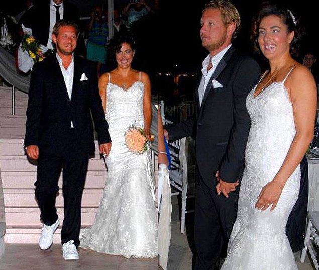 10. Meltem Cumbul ve Alican Özbaş 2012 yılında evlenmiş, 9 ay sonra da ayrılma kararı vermişlerdi.