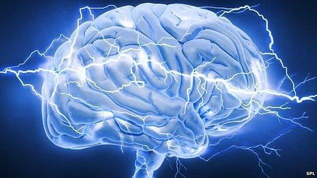 Beyine verilen bir miktar elektrik akımı ise yine McKinley'nin araştırmasına göre bundan çok daha yoğun bir etki yaratır.