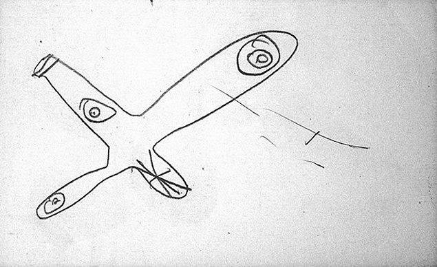 11. Çocuk, bir uçak resmi çizerek annesine göstermiş ve uçaktaki tüm yolcuların kapana kısıldığını söylemiş. Sonra resmi alıp, uçağın etrafına alevler çizmiş ve demiş ki, ''Hepsi öldü, kimse onları bulamayacak.''