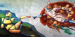 Eyvahlar Olsun! Robotlar Sanata da El Attı: Yeni Leonardo da Vinci Robotlar Arasından mı Çıkacak?