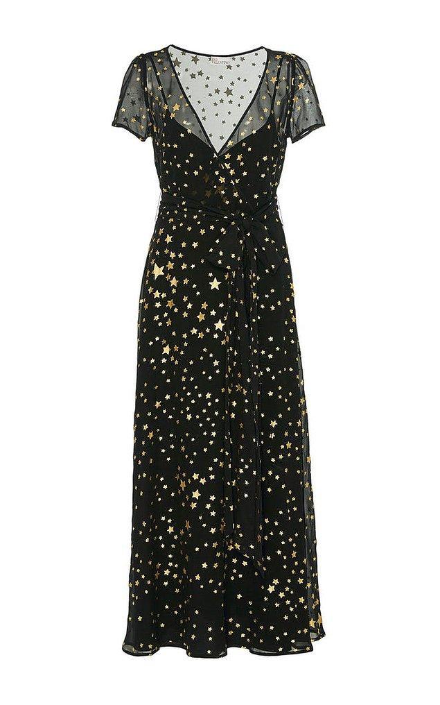 REDvalentino imzası taşıyan bu elbise 1.195 euro, yani yaklaşık 7.200 TL.