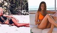 Tüm Güzelliğine Rağmen Koca Ayakları Yüzünden Dalga Konusu Olan Ünlü Model Anastasia Reshetova