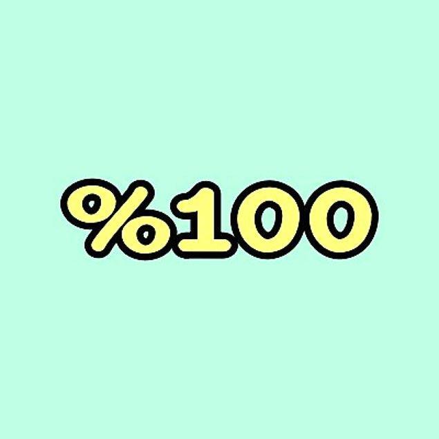 %100 Kıskanılıyorsun!