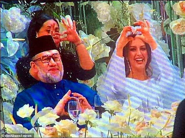 Düğün, 22 Kasım'da Moskova'da gerçkeleşti.