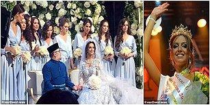 Güzellik Kraliçesiydi First Lady Oldu: Malezya Kralı Kendisinden 24 Yaş Küçük Modelle Evlendi!