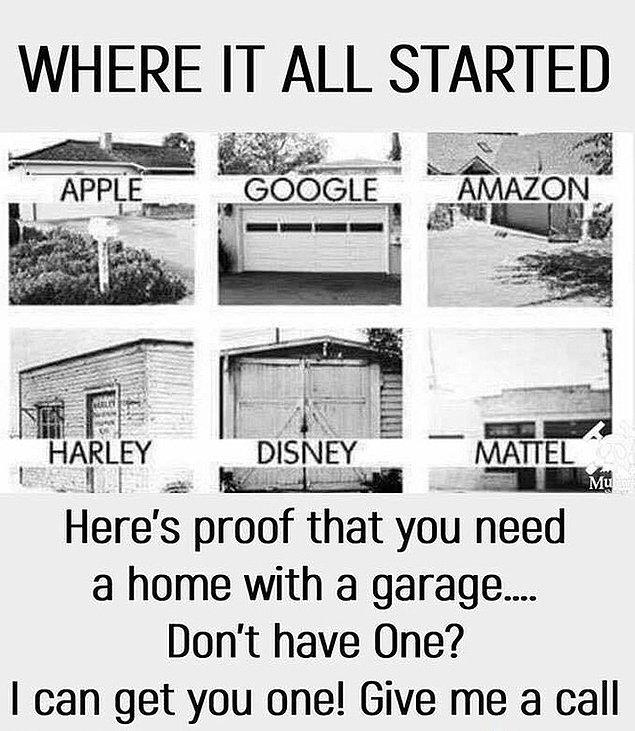 6. Garaj üreten bir şirketten oldukça zeki bir reklam: