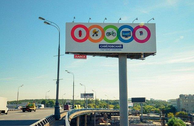 5. Reklam panosunda gördüklerinizin hepsi gerçek, televizyon da dahil.