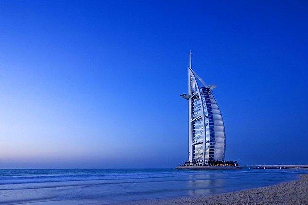 5. Burj El Arab'da her şey dahil 10 gün King Deluxe odada konaklayabilirsiniz.