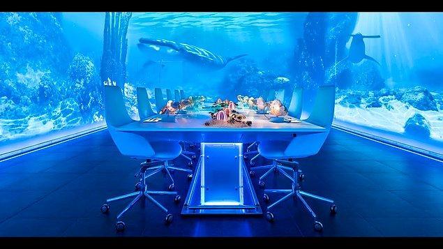 7. Dünyanın en pahalı restoranlarından Ibiza Sublimotion'da 7-8 kişi yemek yiyebilirsiniz.