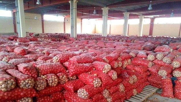 10. 63 ton soğan alıp stoklayabilirsiniz. Yalnız enflasyonla mücadele timlerine dikkat! Biraz riskli bir iş.