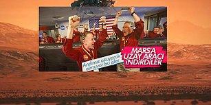 Ensonhaber'den Andımız Saygısızlığı: Mars'a İnen Uzay Aracı İçin 'Andımız Okuyarak Olmuyor Bu İşler' Mesajı