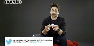 Alp Navruz Sosyal Medyadan Gelen Soruları Yanıtlıyor!