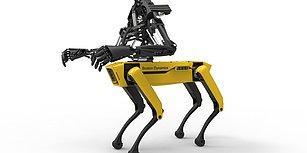 Hayranlıkla İzlediğimiz Robot Köpek SpotMini'nin Artık Kolları Da Var