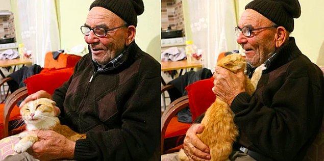 6. Evi yansa da kedisine bir şey olmadığı için teselli bulan ve aynı anda hem keder hem mutluluk gözyaşları döken Ali Dede'yi hatırladınız mı? Sizlere Ali Dede'den sevindirici bir haberimiz var...