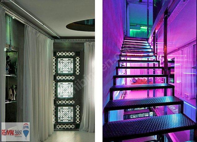 6. Işıkları, dekorasyonu, objeleriyle özgün bir tasarım…