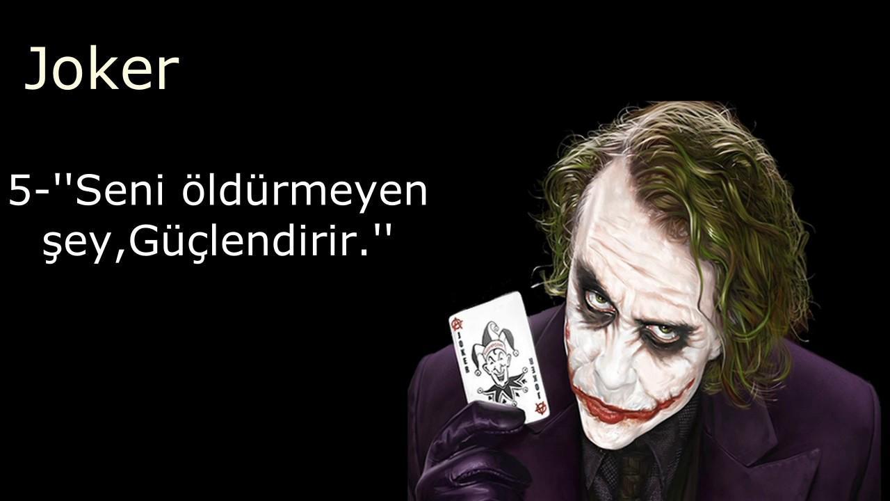 Joker Sözleri: En Etkileyici, Havalı 20 Joker Sözü 22
