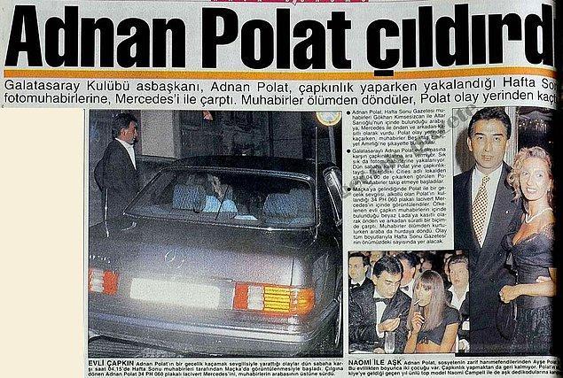 9. Adnan Polat'ın 1995 yılında Naomi Campbell ile aşk kaçamağı yaptığını biz de bilmiyorduk.