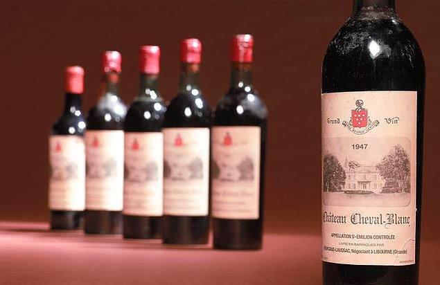 5. Dünyanın en pahalı şarabı 304.375 dolara satılmıştır.