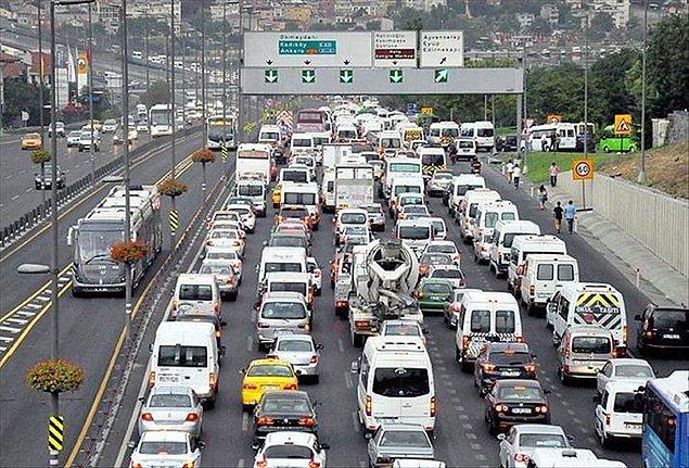 Emisyon ölçümünü yaptırmayan araç sahiplerine para cezası