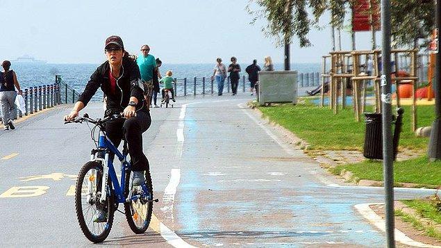 Bisiklet yolu zorunlu