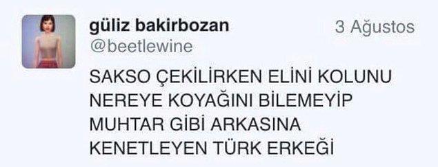 3. Kalender Türk erkekleri.