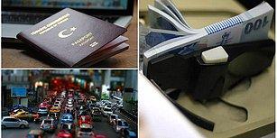 Trafik Cezaları, Motorlu Taşıt Vergisi, Pasaport ve Ehliyet Harçlarına Yüzde 23.73 Zam Yolda