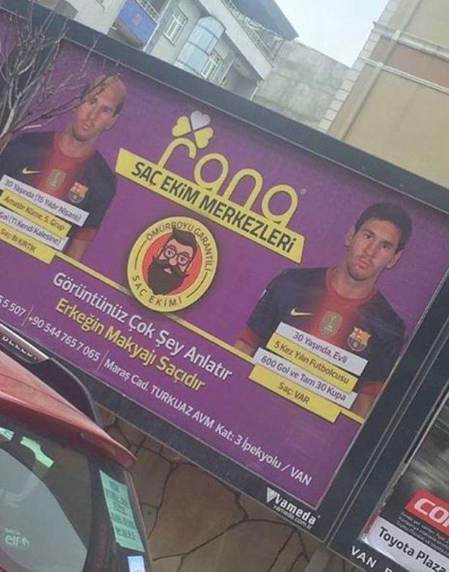 7. Messi'nin hiç bilinmeyen yüzü!