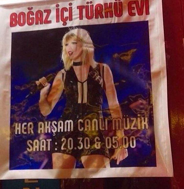 14. Popülerlikten sıkılıp sakin bir hayatta sanatını icra eden Taylor Swift.