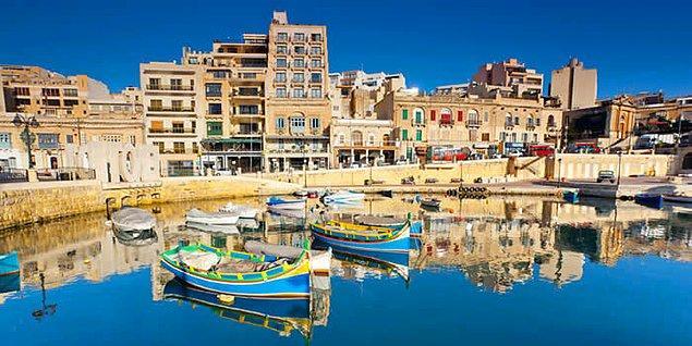 6. Malta'da 14 haftalık İngilizce eğitimi alabilirsiniz.