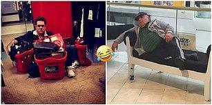 Her Başarılı Alışverişin Arkasında Bir Adam Vardır: Mağaza Önünde Eşlerini Beklemekten Bir Hal Olmuş Koca Yürekli 25 Adam!