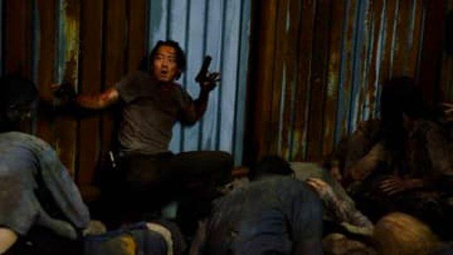 6. ''The Walking Dead''in Glenn karakterine veda ettiğimiz sahne.
