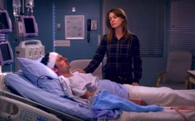 21. ''Grey's Anatomy''de Derek'in öldüğü sahne.