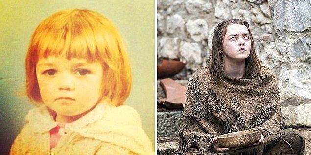 17. Maisie Williams (Arya Stark)