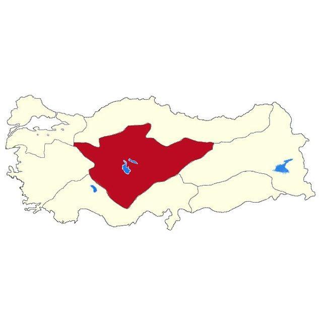 İç Anadolu Bölgesi!