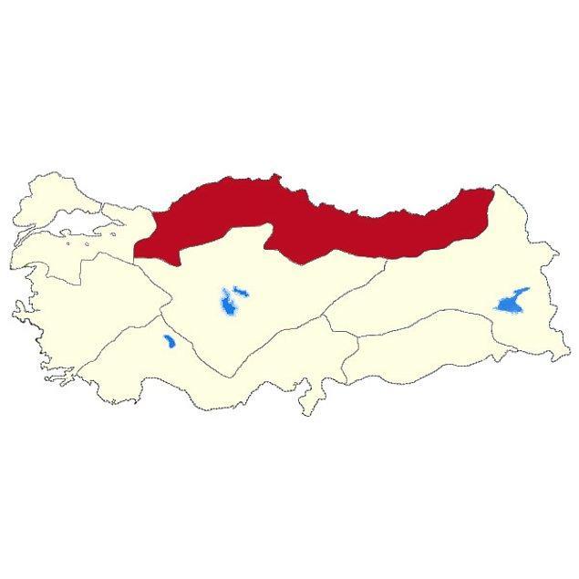 Karadeniz Bölgesi!