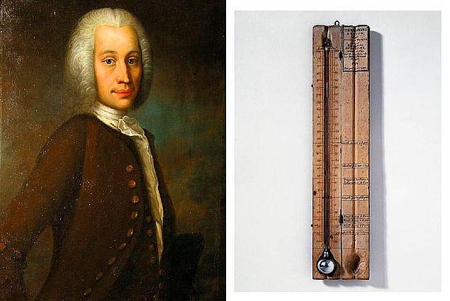 2. 27 Kasım 1701'de Termometreyi bulan İsveçli astronom ve fizikçi Anders Celsius, doğdu.