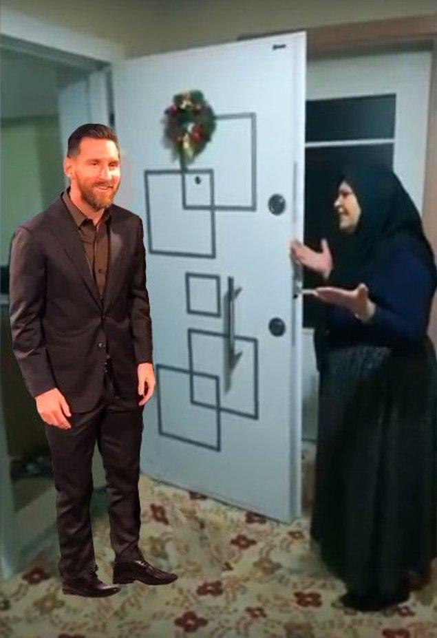1. Kimin Messi'si bu?