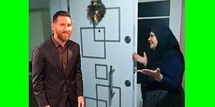 Güzel Mankenin Yanında Donup Kalan Messi'ye Yapılmış Birbirinden Komik 15 Photoshop