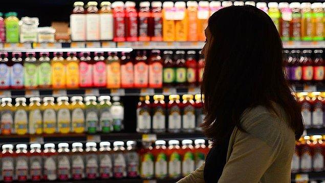 📌 Yıllık en fazla artış yine %30,97 ile gıda ve alkolsüz içecekler grubunda yaşandı.